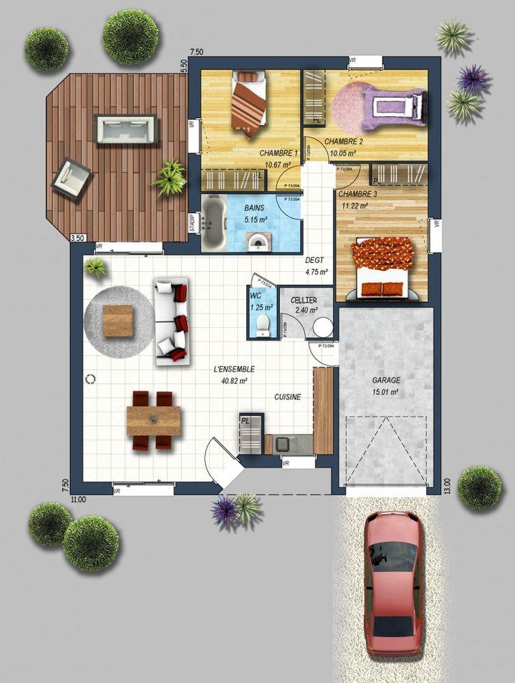 constructeur maison 15. Black Bedroom Furniture Sets. Home Design Ideas