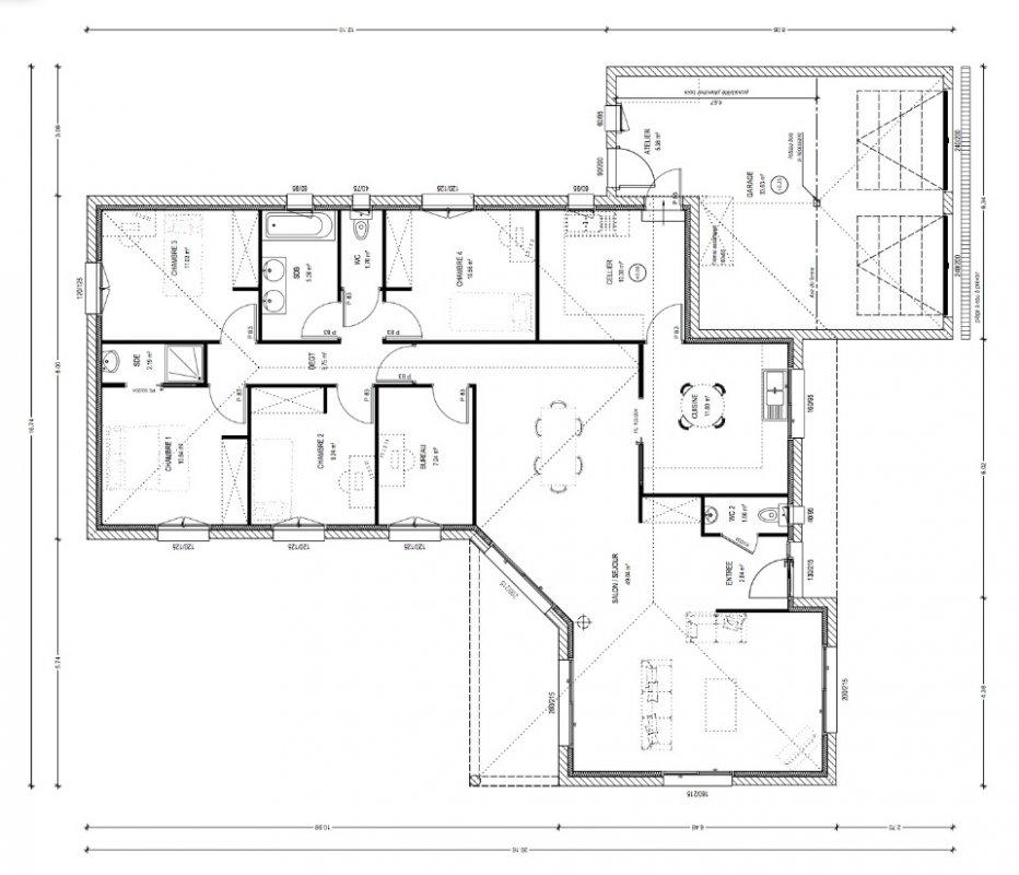 constructeur maison 5 chambres