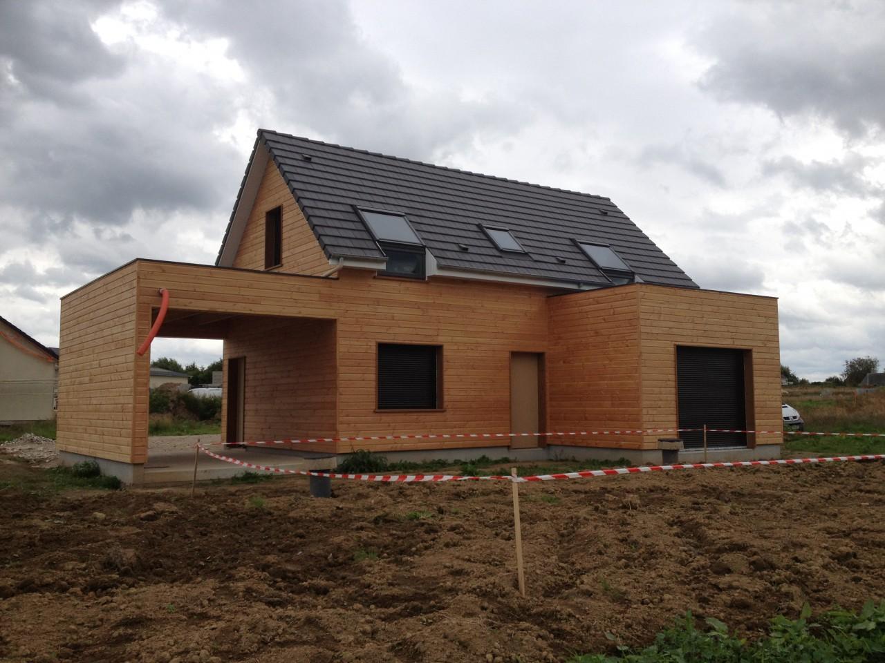 Constructeur maison 76 bois for Constructeur ossature bois