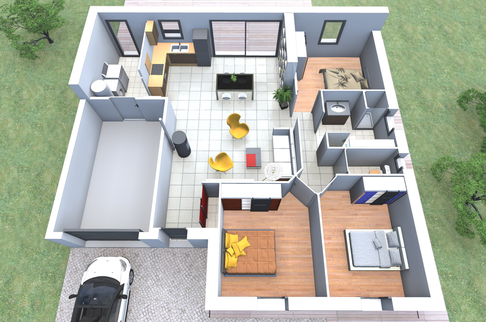 constructeur maison 90