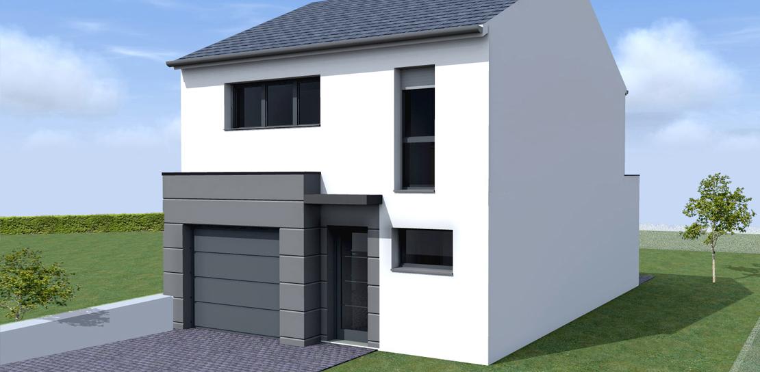 constructeur maison a etage. Black Bedroom Furniture Sets. Home Design Ideas