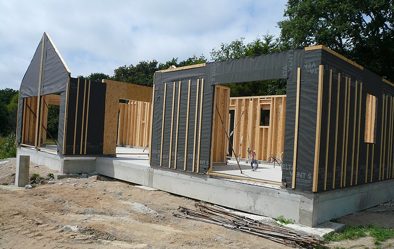 Constructeur maison a ossature bois for Constructeur ossature bois