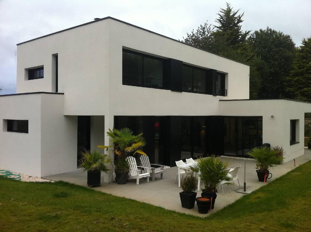 constructeur maison a toit plat