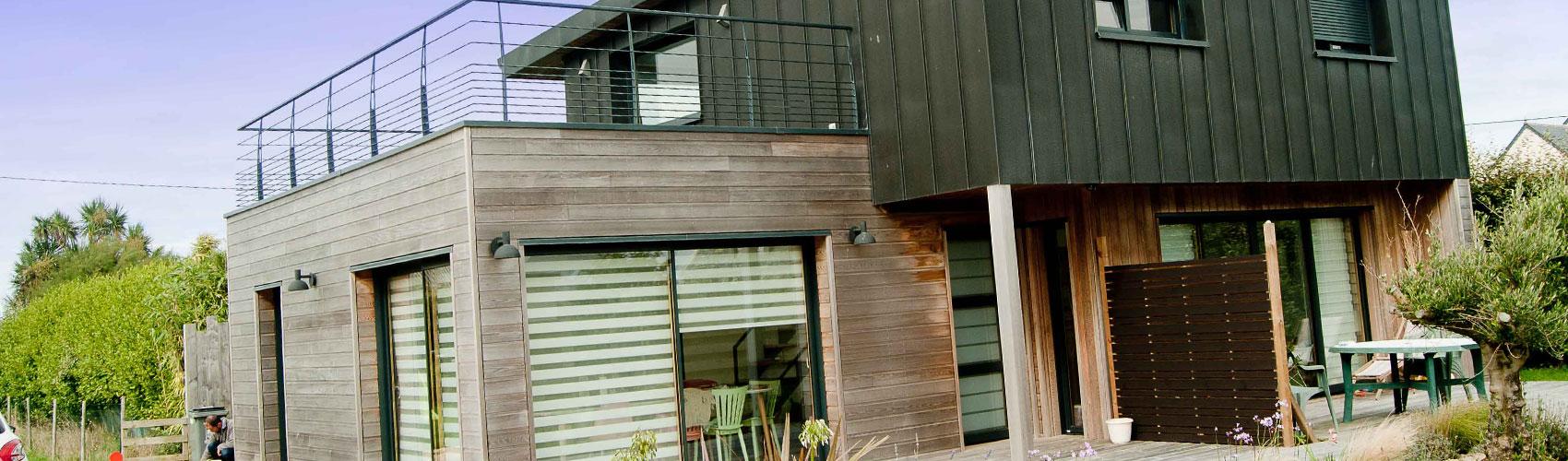 constructeur maison bois finistere