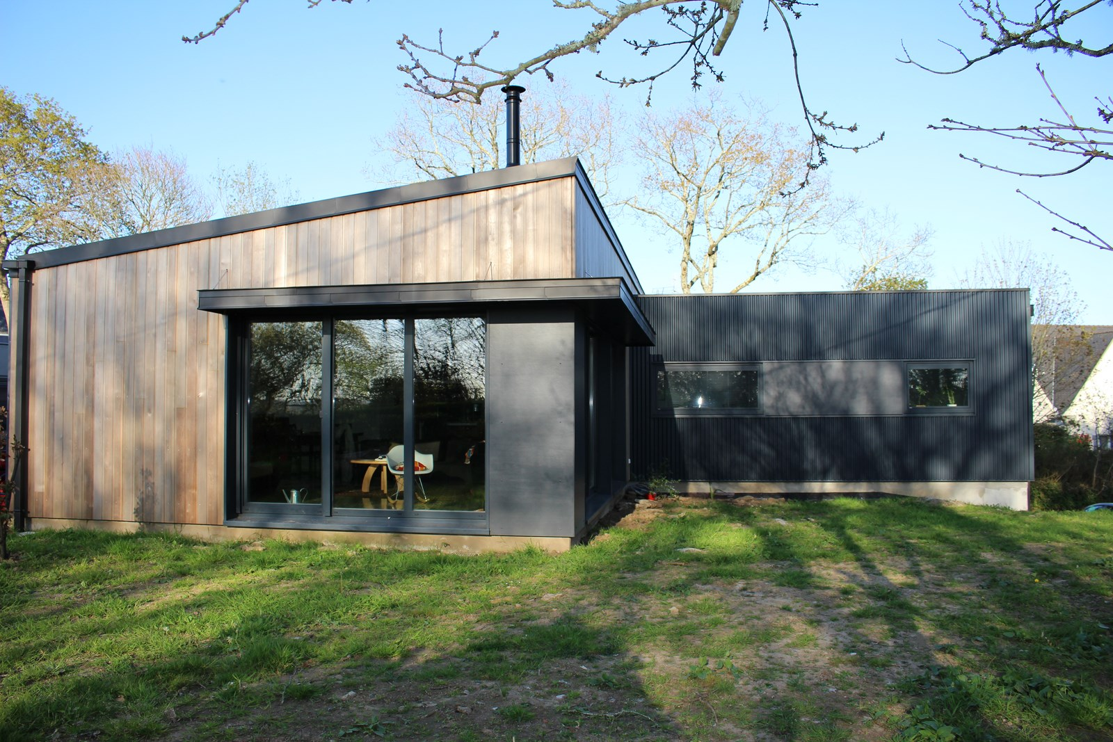 Constructeur maison bois finistere for Construction maison en bois orleans