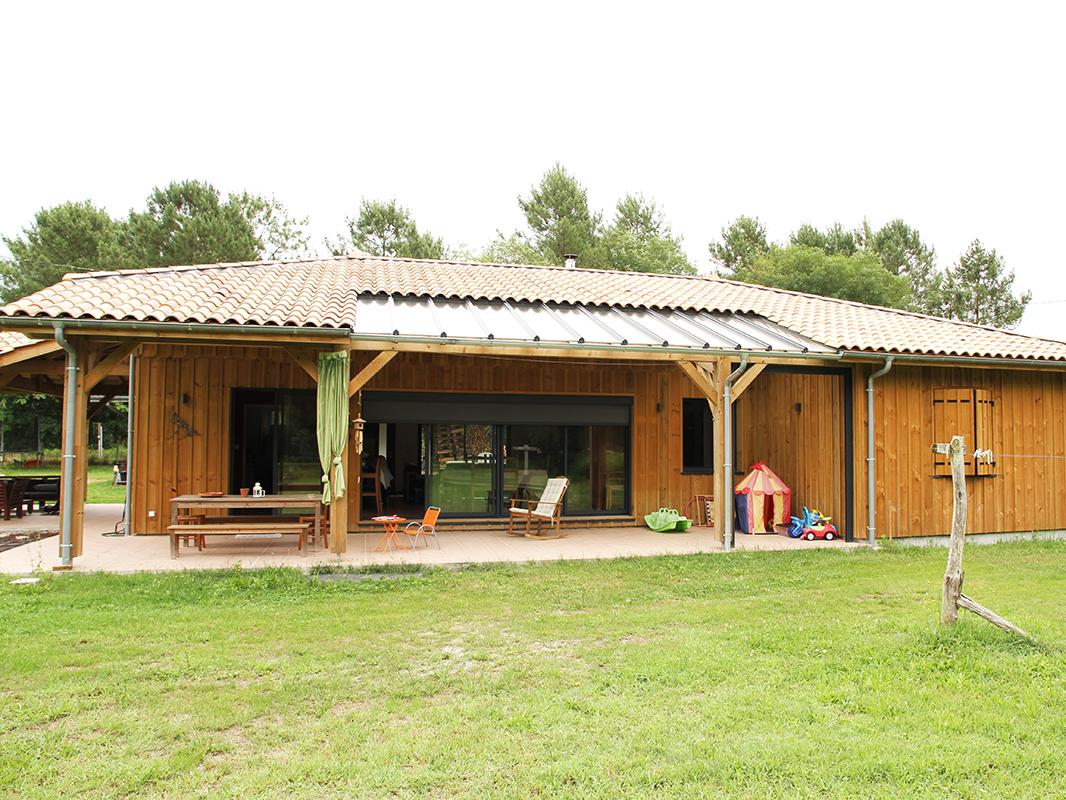 constructeur maison bois landes