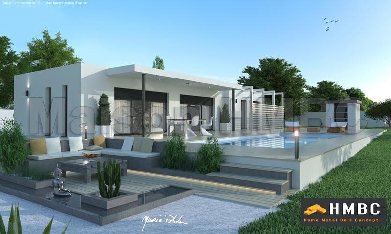 constructeur maison contemporaine var. Black Bedroom Furniture Sets. Home Design Ideas
