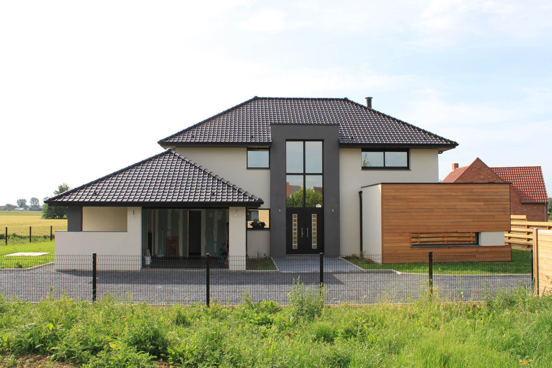 maison cubique constructeur belge