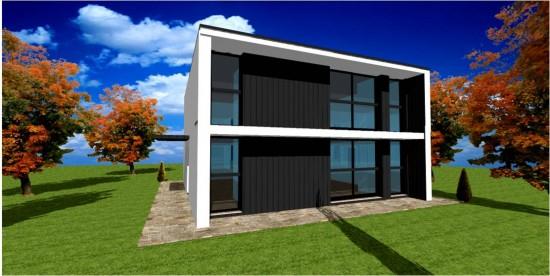 constructeur maison cubique