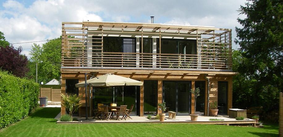 Constructeur maison ecologique france for Maison modulaire ecologique