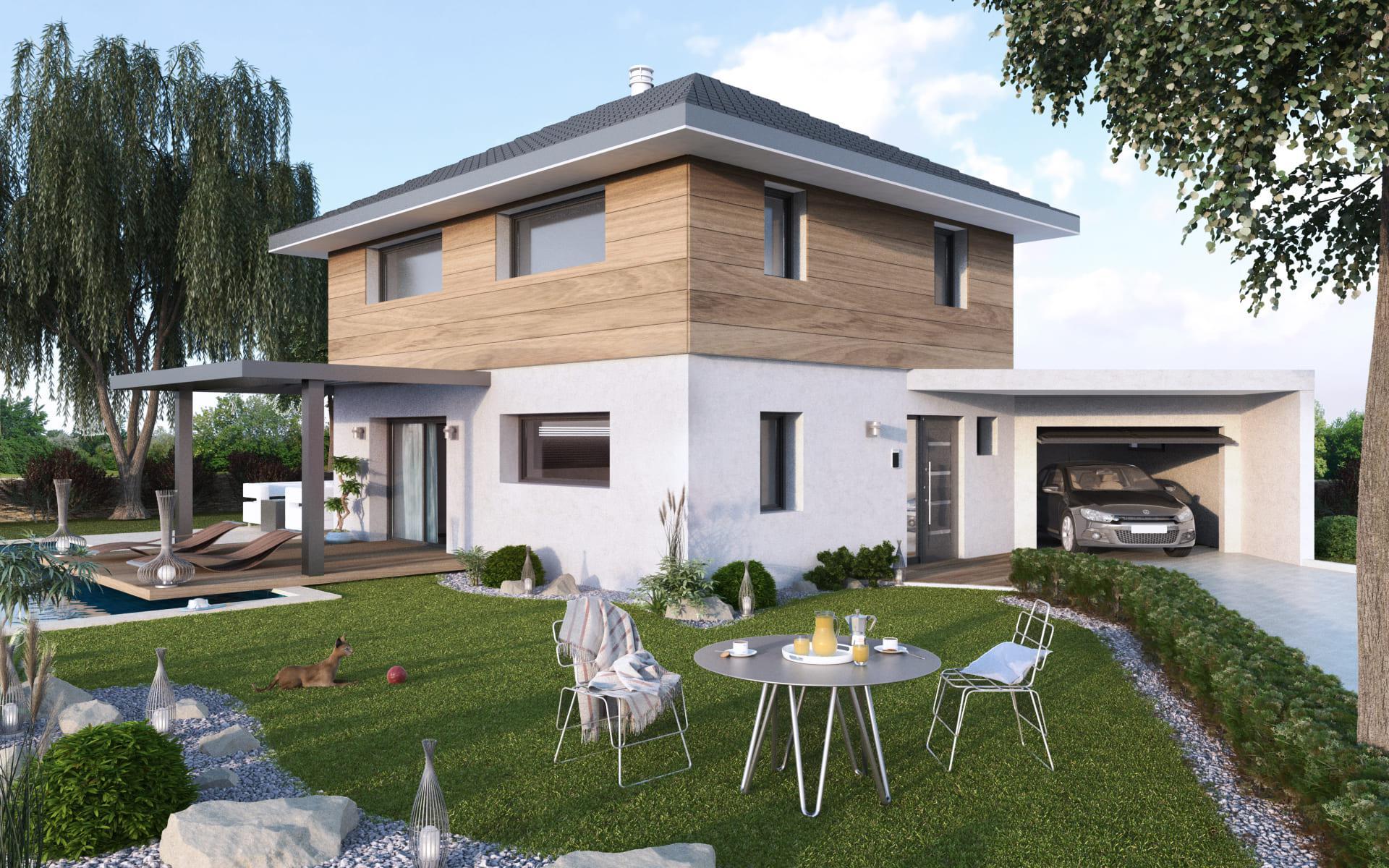 Constructeur maison ecologique savoie for Constructeur maison ecologique