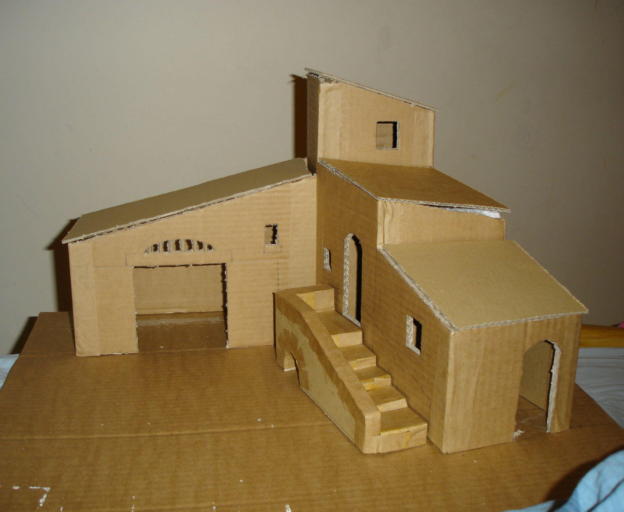 constructeur maison en carton