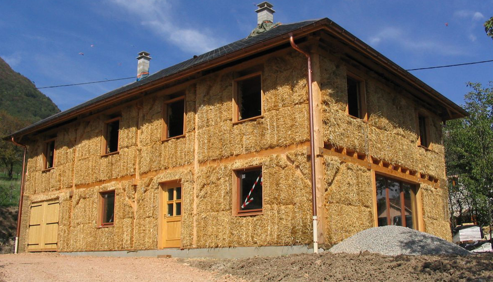 Constructeur maison en paille for Construction de maison en paille