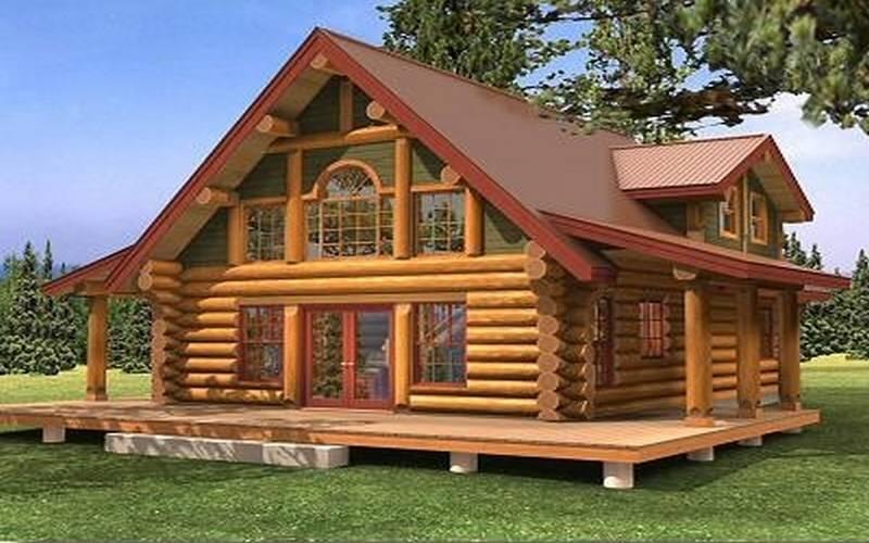 constructeur maison en rondin de bois