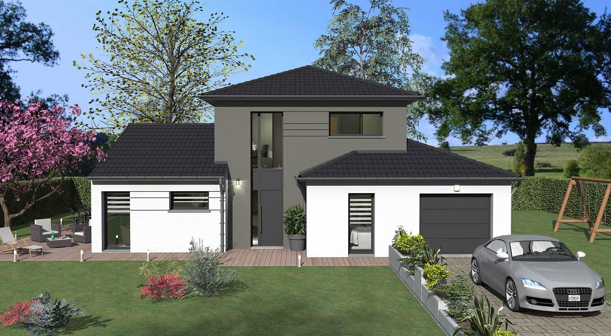 Constructeur maison individuelle 77 for Constructeur maison moderne