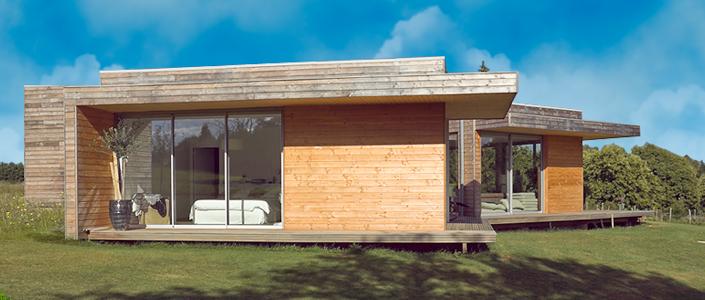 Constructeur maison kit bois for Constructeur ossature bois