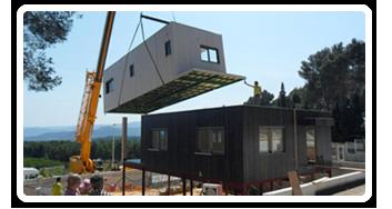 Constructeur maison modulaire - Maison bloc modulaire ...