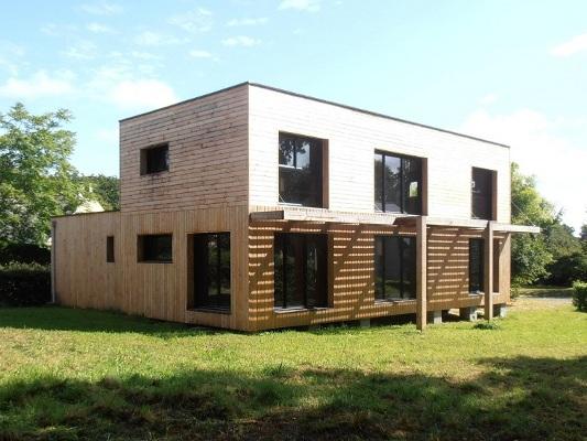 constructeur maison ossature bois 44