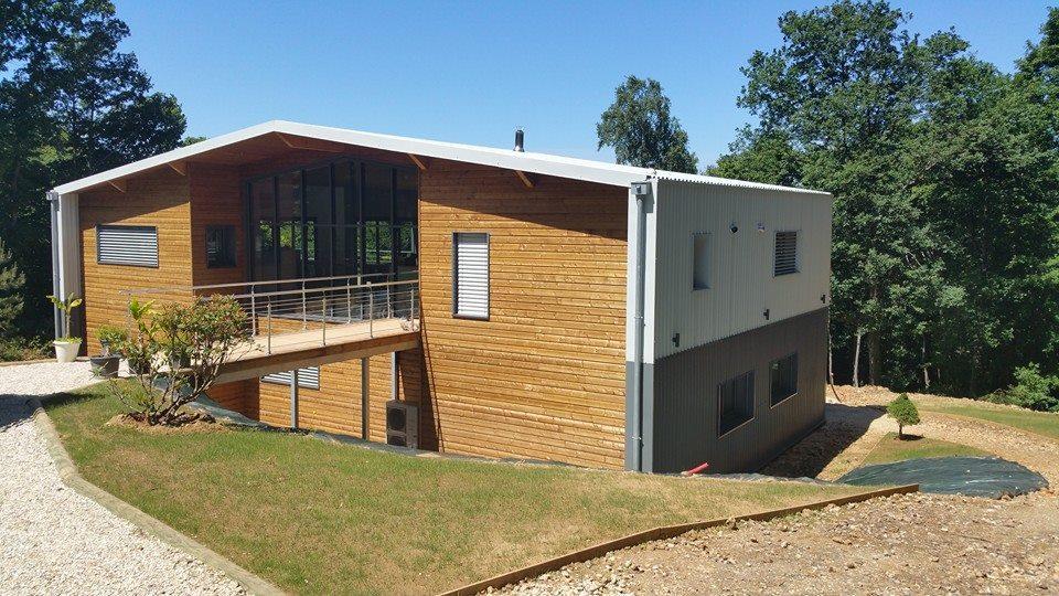 Constructeur maison ossature bois eure et loir for Constructeur ossature bois
