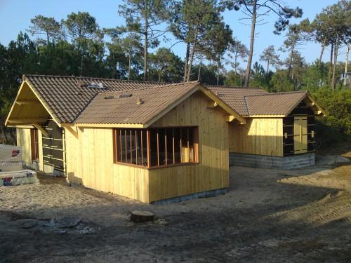 Constructeur maison ossature bois gironde for Constructeur ossature bois