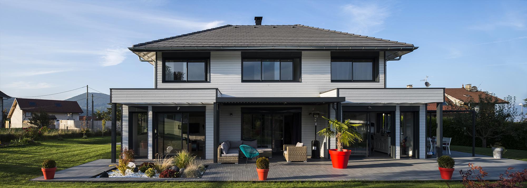 Constructeur maison ossature bois haute savoie - Constructeur maison annecy ...