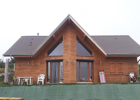 constructeur maison ossature bois isere
