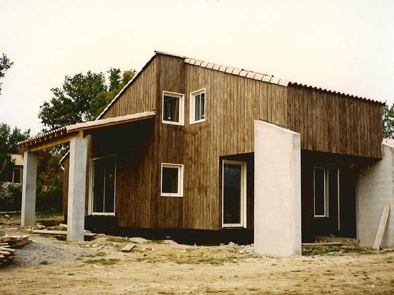 Constructeur maison ossature bois languedoc roussillon for Constructeur ossature bois