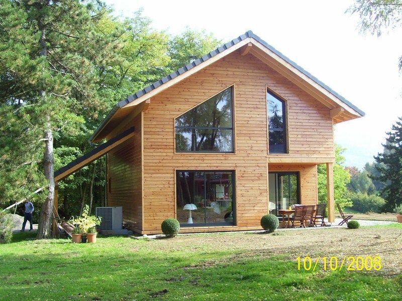 constructeur maison ossature bois savoie