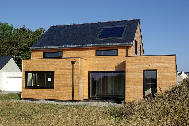 Constructeur maison ossature bois for Constructeur ossature bois