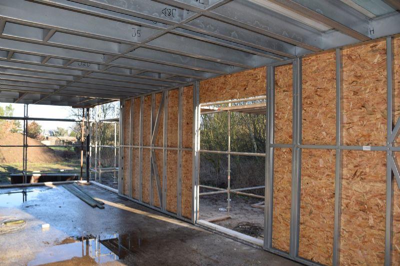 Constructeur maison ossature metallique - Construction maison ossature metallique ...