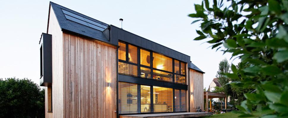 constructeur maison passive bois. Black Bedroom Furniture Sets. Home Design Ideas