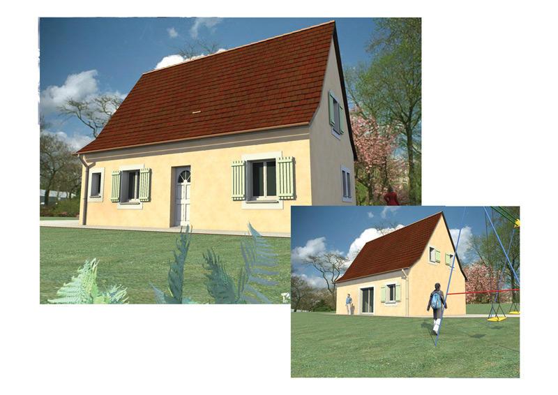 Plan maison perigourdine