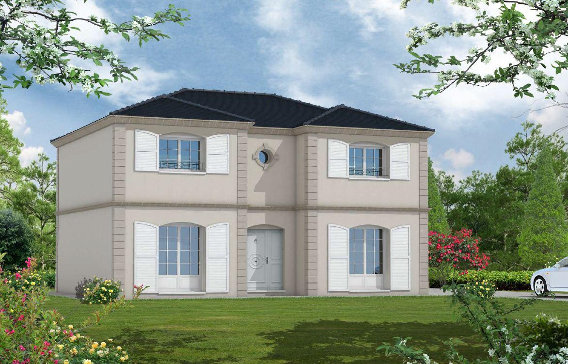 Constructeur maison r 1 Maison blanche constructeur