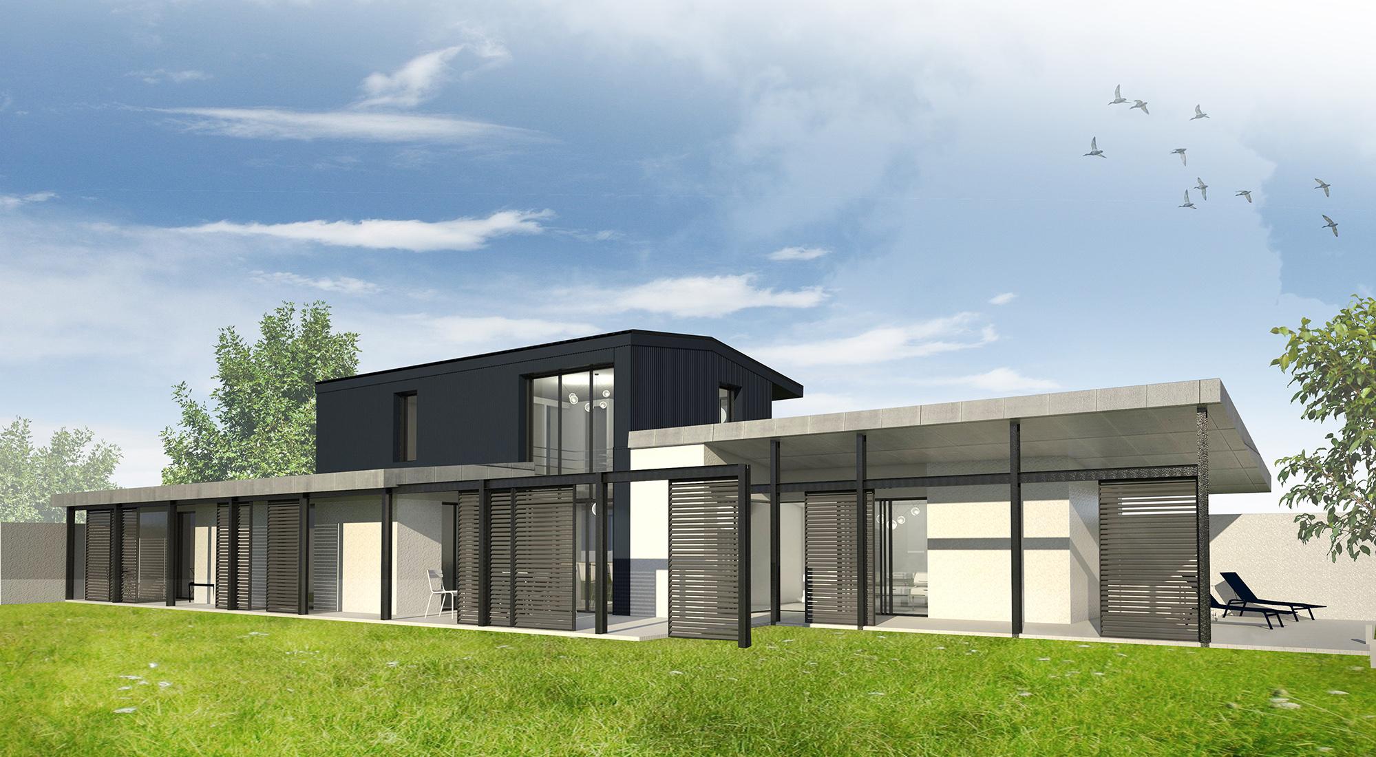 Constructeur maison rennes architecte for Architecte constructeur
