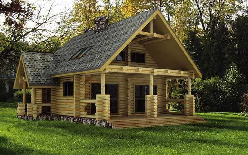 constructeur maison rondin. Black Bedroom Furniture Sets. Home Design Ideas
