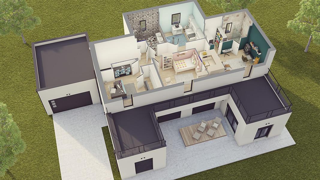 constructeur maison style loft