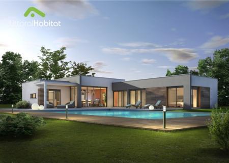 constructeur maison toit plat