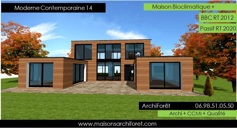 plan de maison ultra moderne