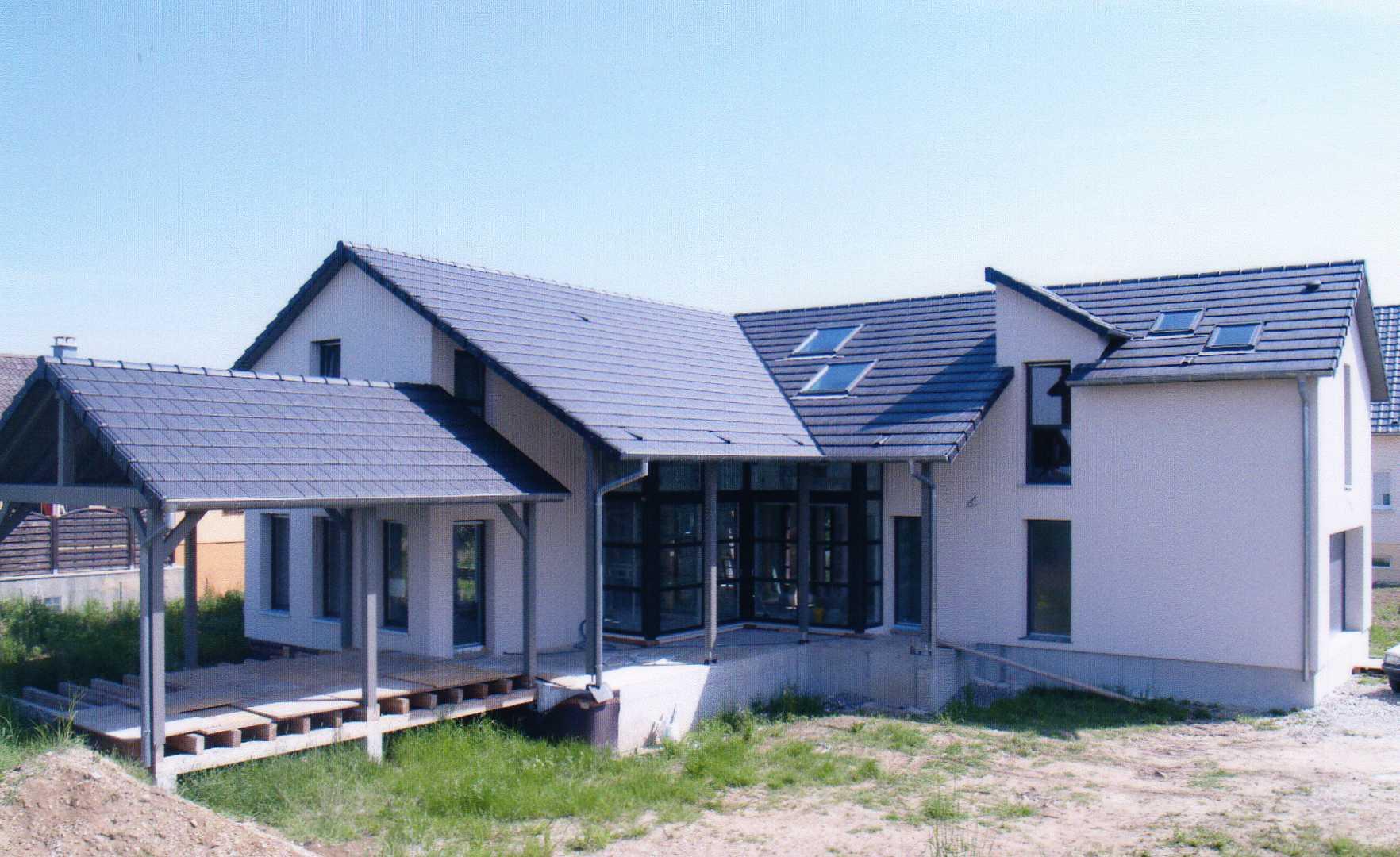 constructeur maison vitre