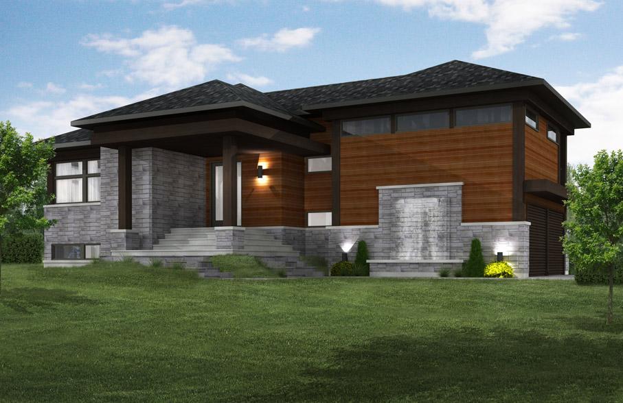 Constructeur maison zen - Plan de maison quebec ...