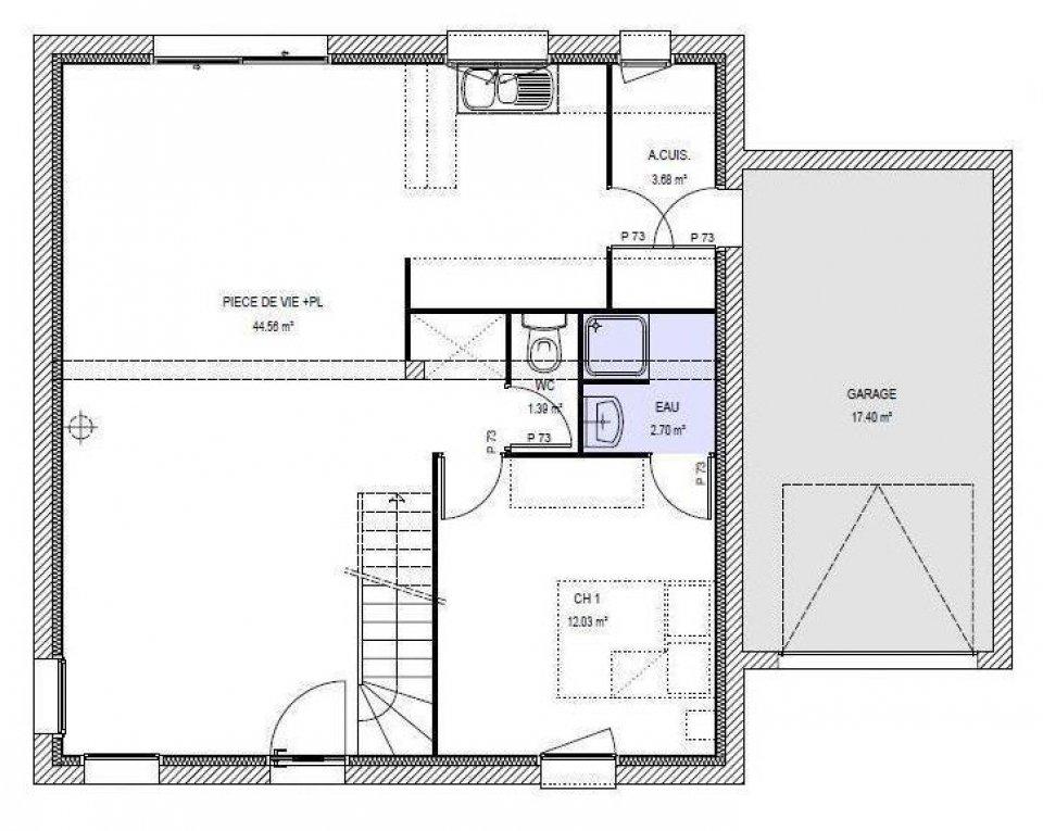 maison etage 110m2