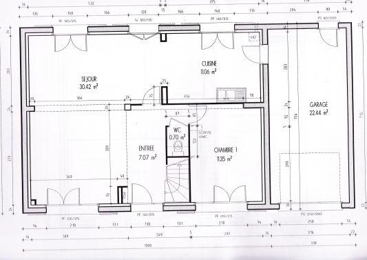 maison etage 120m2