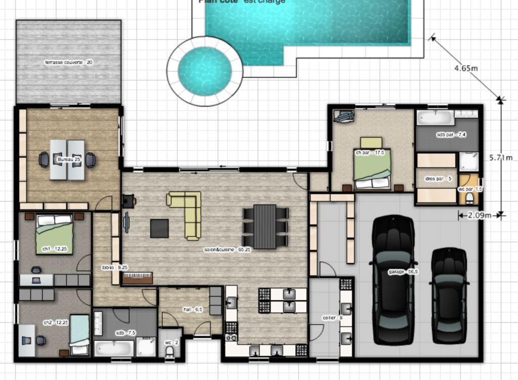 maison etage 180m2