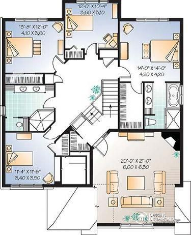 maison etage 5 chambres