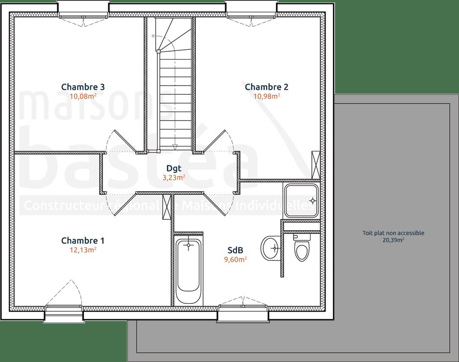 Plan De Maison 2 Etage