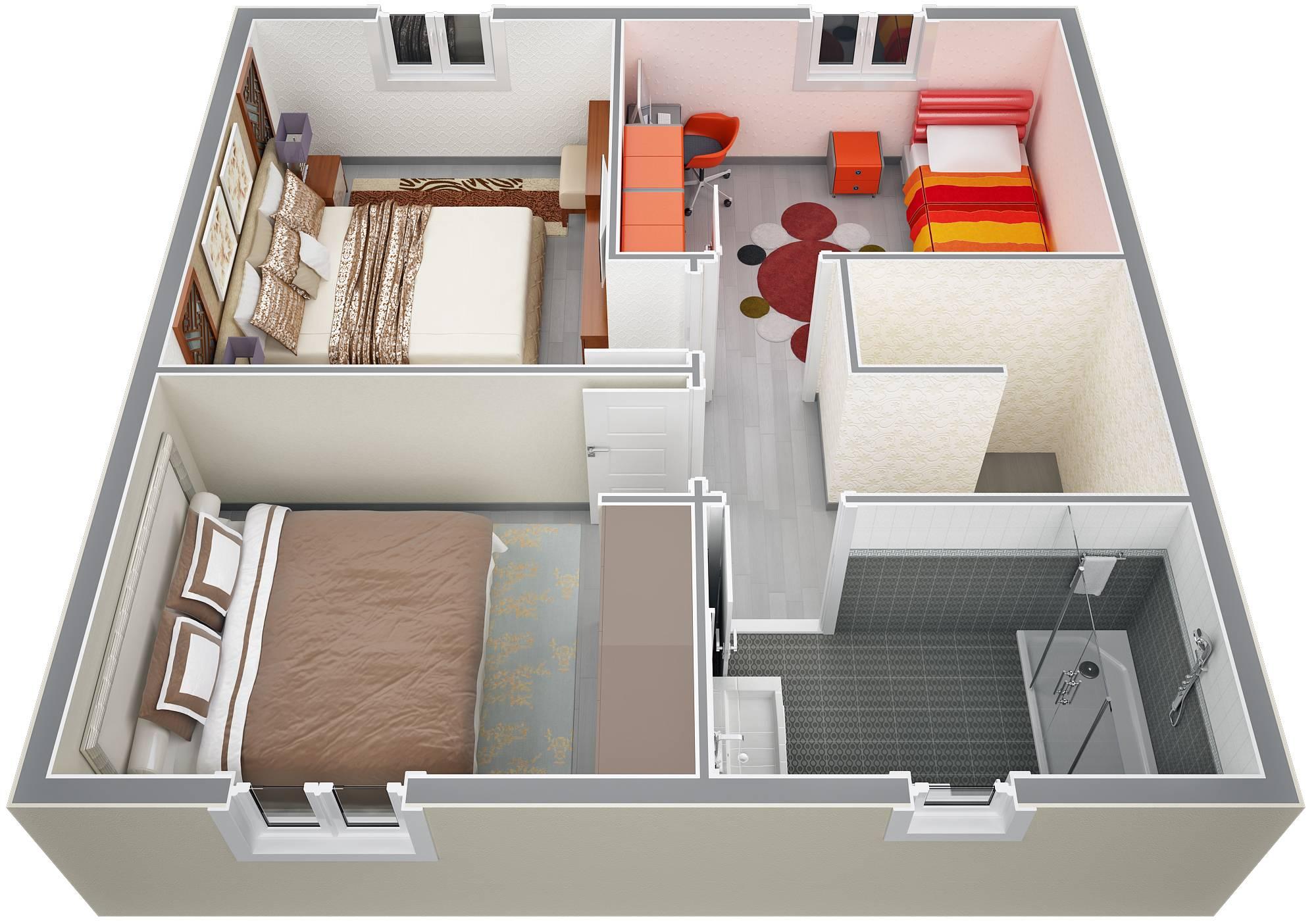 maison etage 90m2
