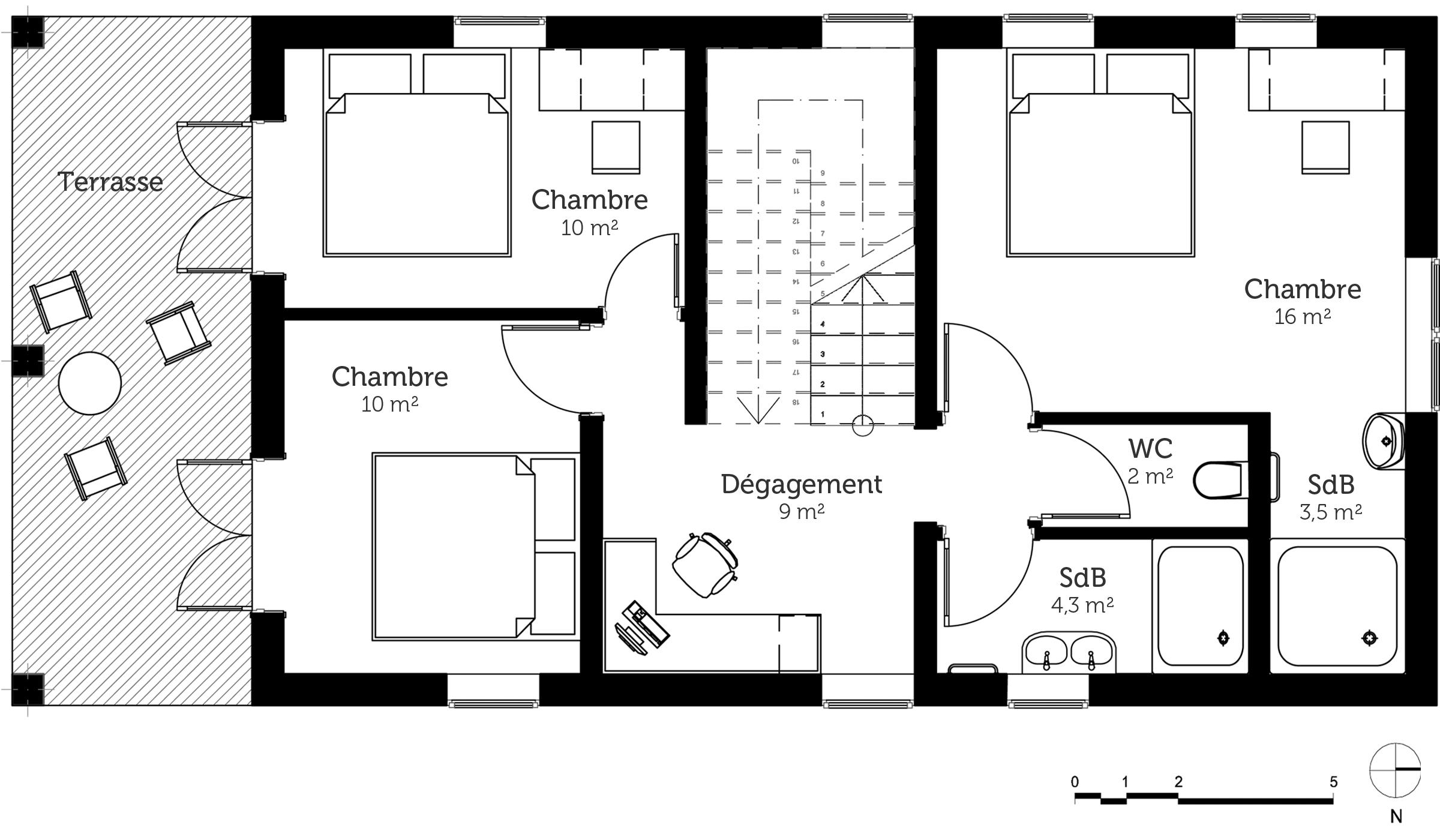 Maison etage avec plan - Programme pour plan de maison ...