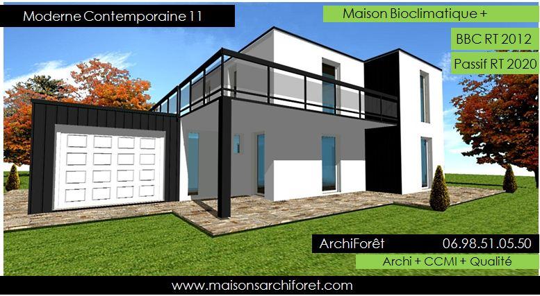 maison etage avec terrasse