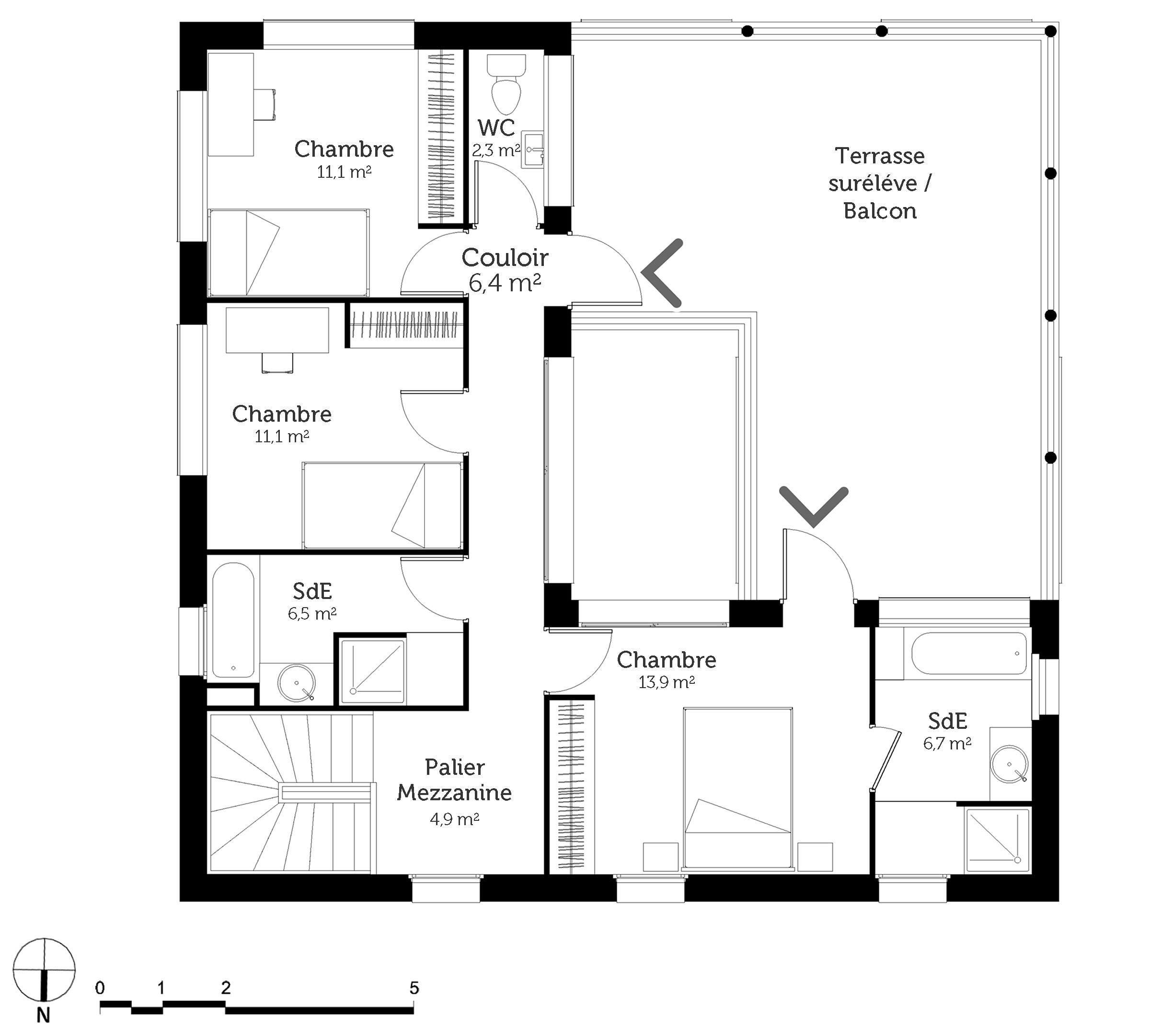 maison etage carre