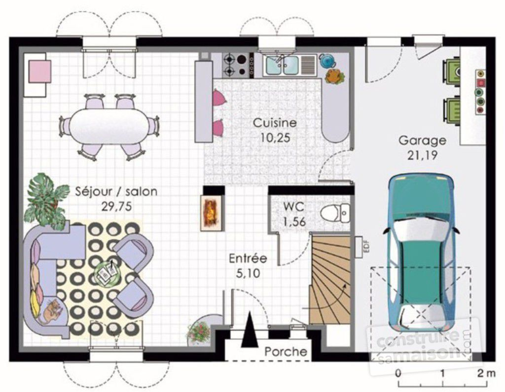 maison etage classique